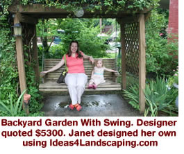 backyard garden landscaping ideas