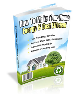 Save On Energy Costs - Green Home Guide
